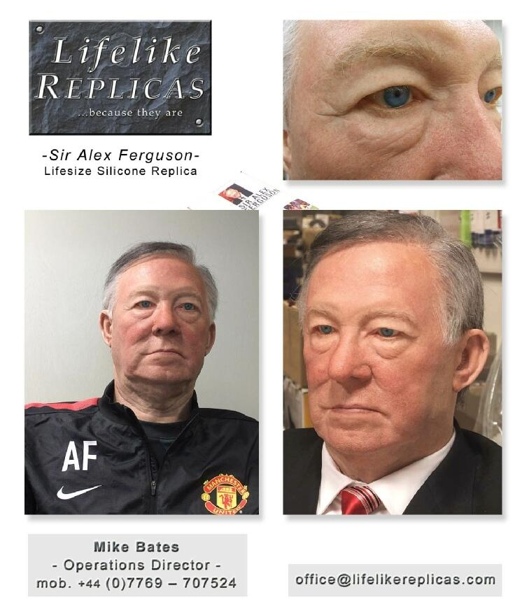 Sir Alex Ferguson Figure